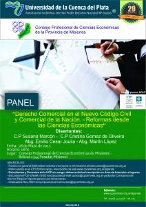 Organizan jornada sobre Derecho comercial en el nuevo Código Civil y Comercial de la Nación