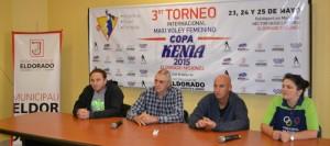 """En Eldorado todo listo para el III Torneo internacional de maxi voley femenino """"Copa Kenia 2015"""""""