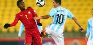 Mundial Sub 20: Argentina cayó ante Ghana y su clasificación se complicó