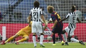 Barcelona venció a la Juventus con Messi como abanderado