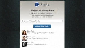 WhatsApp azul, una nueva trampa para desprevenidos que sale cara