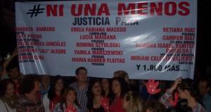 #NiUnaMenos, los reclamos anoche en la plaza 9 de Julio