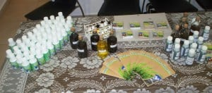 Investigadores del Cedit producen aceites aromáticos, licores artesanales, jabones y repelentes contra insectos