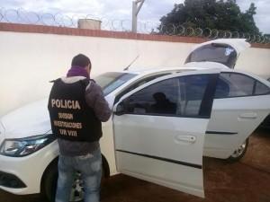 San Vicente: recuperaron un auto robado en Brasil