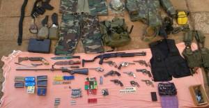 Investigaban un secuestro y dieron con un arsenal en Puerto Libertad