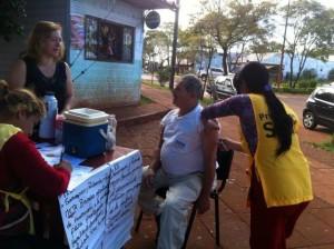 Se aplicaron más de 94 mil vacunas contra la gripe en Misiones