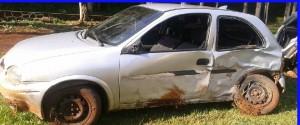 Dos vehículos colisionaron dejando solo daños materiales