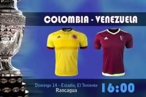 Colombia inicia su ilusión ante Venezuela