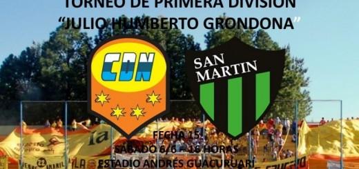 """Crucero recibe el sábado a las 16 al """"Santo"""" sanjuanino y debe ganar para que no se corten los rivales directos por la permanencia"""