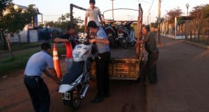 Varias motocicletas secuestradas en operativos de prevención en Posadas