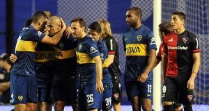 Boca goleó y es escolta de San Lorenzo