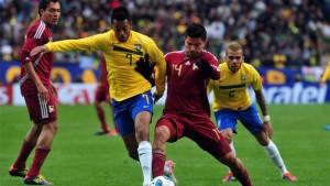 Brasil venció a Venezuela, pasó a cuartos y Colombia será rival de Argentina