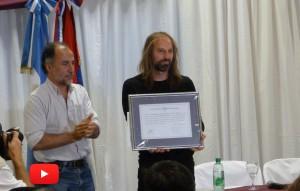 El Chango Spasiuk recibió el título de Doctor Honoris Causa