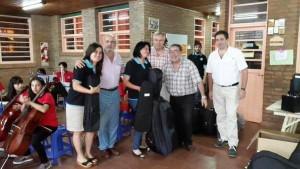 Empresas misioneras donaron 45 instrumentos al CEMU