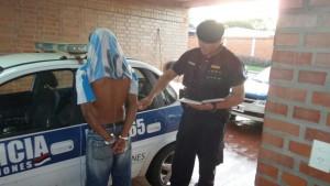 Joven detenido por agredir a su pareja