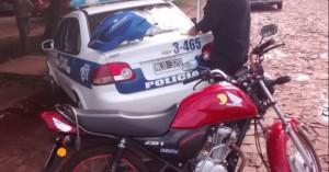Dos detenidos y secuestro de motopartes en Posadas