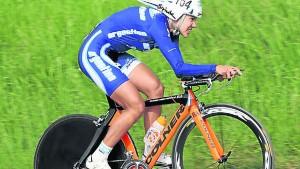 Mariela Delgado, la ciclista misionera que hará historia en Toronto