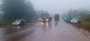 San Vicente: Retuvieron camión que transportaba 54 aborígenes y que era conducido por un chofer alcoholizado