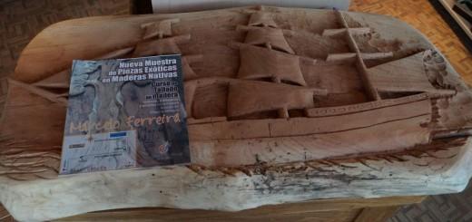 La Fundación Artesanías Misioneras expone obras talladas en madera nativa
