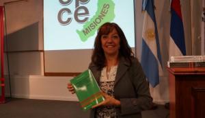 Beatriz Ricatti presentó su libro sobre rendiciones de cuentas públicas