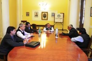 Los ministros Franco y Valenzuela recibieron a delegados deUATRE para analizar la situación de los tareferos