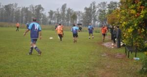 """Aciadep: Los """"inter"""" vivieron ayer una tarde de fútbol bajo la lluvia"""