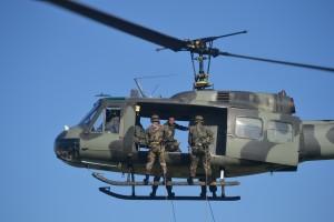 El Ejército realizó instrucciones en Posadas y presentó nuevo equipamiento