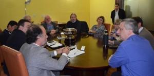 Passalacqua y autoridades de la UNaM acordaron plan de trabajo conjunto