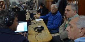 Passalacqua brindó junto a los empleados de Radio Provincia por los 51 años de su fundación