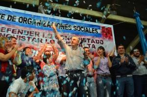 Decenas de organizaciones sociales expresaron su apoyo a la fórmula Passalacqua-Herrera