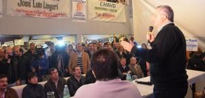 La Federación de Trabajadores de Obras Sanitarias expresó su apoyo a la fórmula Passalacqua-Herrera