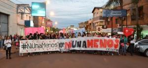 Oberá también dijo #NiUnaMenos