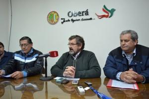 Gremios acordaron con el municipio de Oberá un 18% de aumento salarial