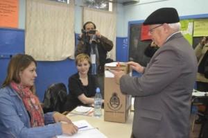 Pese al mal clima, casi un tercio del padrón ya votó en Tierra del Fuego