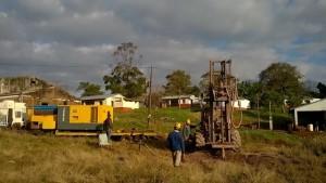 Construyen un nuevo pozo perforado en la aldea de Fracrán