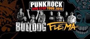 Bulldog y Flema desembarcan en la tierra colorada con el Non-Stop Tour 2015