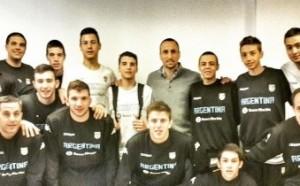 Básquet: Franco Zandomeni hizo podio con la Selección Argentina en el FIBA Américas
