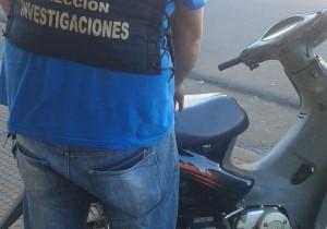 Posadas: recuperaron moto robada en poder de un menor