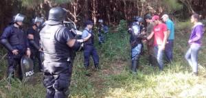 Evitaron  ocupación ilegal de un terreno en Puerto Libertad y detuvieron a 23 personas