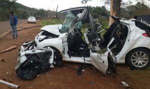 Dos jóvenes de Campo Grande perdieron la vida al chocar contra un árbol en la ruta provincial N°6