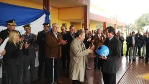 El ministro Franco presidió el acto por el 121º aniversario de Bonpland