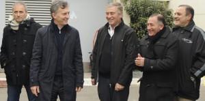 """Macri en Córdoba: """"Trabajo para que la gente viva mejor"""""""
