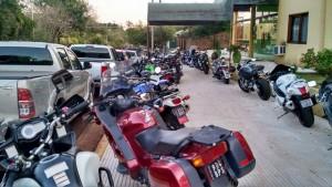 Alrededor de 2.500 motoqueros coparon Apóstoles en para un encuentro inolvidable
