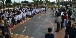Se realizó una jornada ambiental en Itaembé Miní