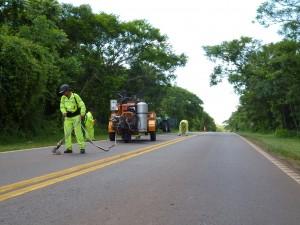 """Campaña """"Cuidado Animal"""": Vialidad Nacional suma obras de seguridad vial en el Parque Nacional Iguazú"""