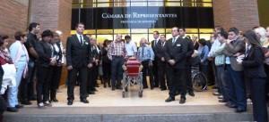 Con dolor y amplio reconocimiento, amigos y familiares dieron el último adiós a Mario Losada