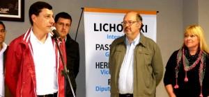 Ante cientos de docentes se presentó Cristian Dechat, el primer candidato a concejal de Luis Lichowski