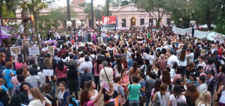 Misiones pide #NiUnaMenos