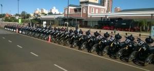 Entregaron 21 motocicletas y 15 cuatriciclos para la Policía
