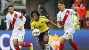 Colombia empató con Perú y sigue sin definirse el Grupo de la Muerte